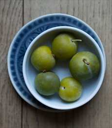 梅酒の梅の使い方