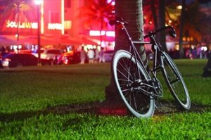 会社まで自転車で行く場合